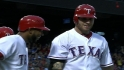 Rangers' eight-run fourth