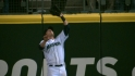Saunders' leaping catch