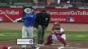 Pena's two-run homer
