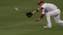 Victorino&#039;s diving grab