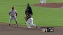 Wieters throws out Abreu
