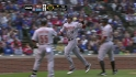 Barmes&#039; two-run single