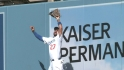 Kemp's leaping grab at wall