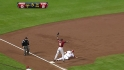 Frazier's first stolen base