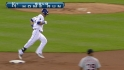 Gordon's leadoff homer
