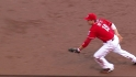 Votto's slick play