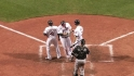 Hafner's two-run homer