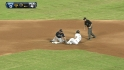 Prado throws out Sanchez