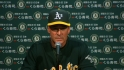 Melvin on the A's 3-2 loss