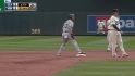 Ackley steals second