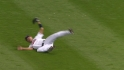 Fukudome's diving catch