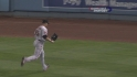 Beltran&#039;s running catch