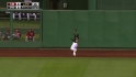 McCutchen&#039;s great catch