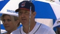 Thome honored by Indians