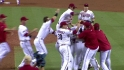 Putz gets Huff to clinch NL West