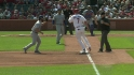 Soriano&#039;s strong throw