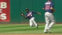Span's diving catch