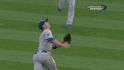 Giavotella's tough grab
