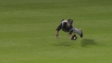Young&#039;s diving catch
