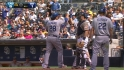 Barajas' two-run homer