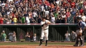 Thome receives big ovation