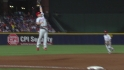Polanco's leaping snag