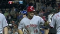 Heisey&#039;s three-run blast