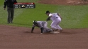 Pierzynski throws out Thames
