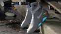 Wilson rocks the Air Mags