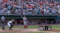 Pudge receives ovation