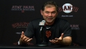 Bochy on Giants' season finale