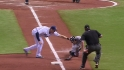 Longoria's heads-up play
