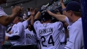 Longoria, Johnson lead Rays back