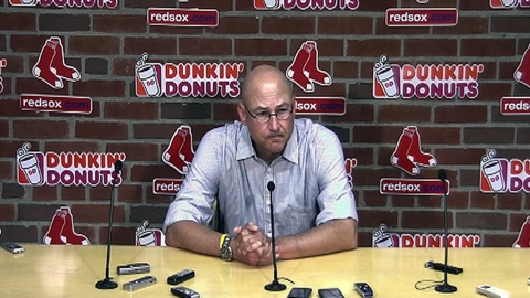 Francona discusses friction with owners in book