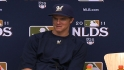 Greinke on starting Game 2