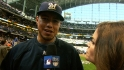 Gallardo on his Game 1 gem
