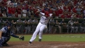 Beltre's RBI hit-by-pitch
