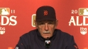 Leyland on Game 1 loss to Yanks