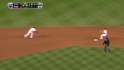 Lidge induces double play