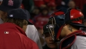 Cards, Phils react to umpire