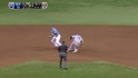 Longoria&#039;s diving stop