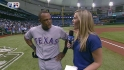 Beltre discusses three homers