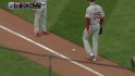 Theriot's infield single