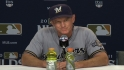 Roenicke on Brewers' Game 3 loss