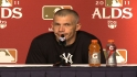 Girardi on ALDS Game 5 loss