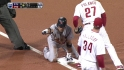 Furcal's leadoff triple