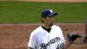 Saito's scoreless relief