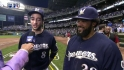 Fielder, Braun discuss win