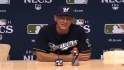 Roenicke on Game 1 victory