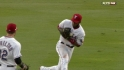 Andrus&#039; tough grab